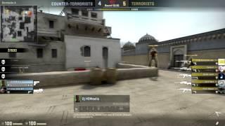 CS:GO - Sneaky Peaky Ninja Defuse (Dust2)