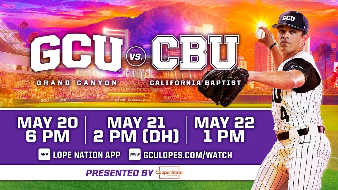 GCU Baseball vs California Baptist (DH Game 2)  |  May 21, 2021