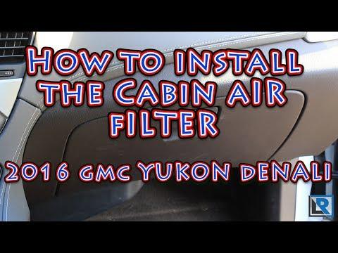 Escalade Suburban CF11809 POTAUTO MAP 1065C Silverado GMC Sierra TAHOE CHEVROLET Activated Carbon Car Cabin Air Filter Replacement for CADILLAC Yukon