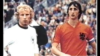 1974W杯 西ドイツとオランダ 戦術革命