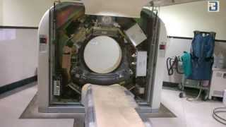 CT Scanner components inside the gantry