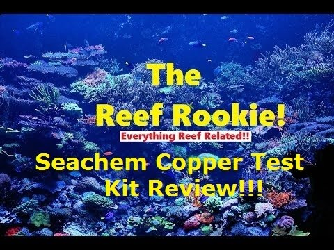 Seachem Copper test kit review and how to.
