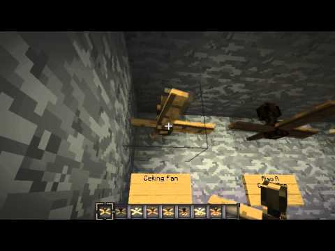 Ceiling Fan Mod MineCraft 1.4.7