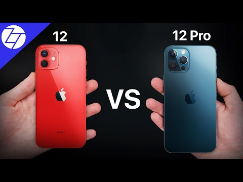 iPhone 12 vs 12 Pro - 37 THINGS You NEED to KNOW!
