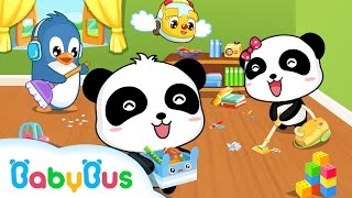 ❤ Baby Gets Organized | Animation For Babies | BabyBus