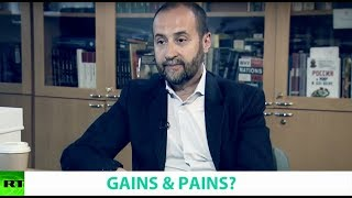 GAINS & PAINS? Ft. Andrey Movchan, Director of the Economic Policy Program at Carnegie Moscow.mp3