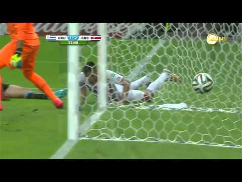 Uruguay 1 - 3 Costa Rica I Brasil 2014