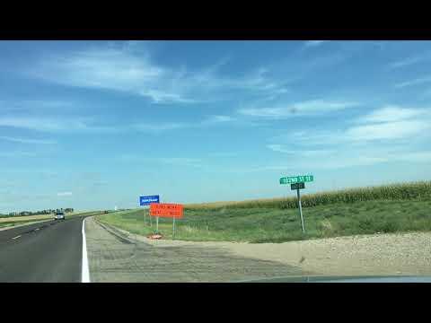 Crossing South Dakota and North Dakota State Line