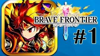BRAVE FRONTIER – Part 1 Walkthrough (iPhone Gameplay)