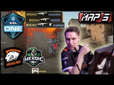 Michu 1 VS 3 Clutch! Dust 2 New Tactics For VP? Virtus.pro H
