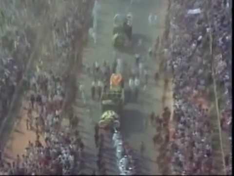 indira gandhi funeral