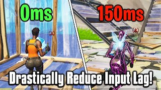 Drastically Reduce Your Input Delay In Fortnite! - PC + Console Guide!