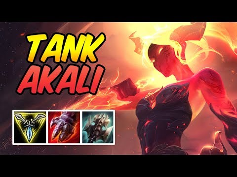 Reworked AD Tank Akali TOP | New Build & Runes | Diamond Infernal Akali .