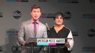 Lance Bass Dishes on Fiance - AMAs 2013