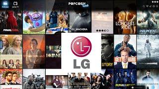 Ver películas online gratis en LG Smart TV con subtítulos
