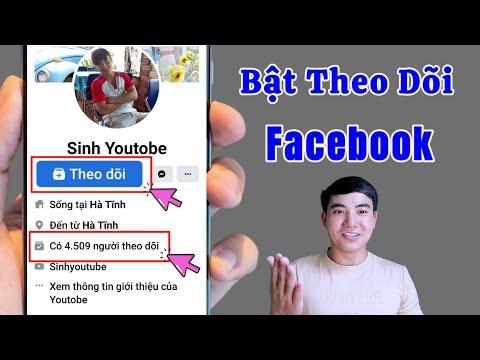 cách hack người theo dõi trên facebook bằng máy tính - Cách Bật Người Theo Dõi Trên Facebook Bằng Điện Thoại Với Giao Diện Mới Nhất