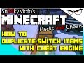 Minecraft 1.8.x Hacks and Cheats How to Duplicate and Change Items Using Cheat Engine