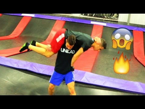 Thumbnail: WWE MOVES AT THE TRAMPOLINE PARK 2