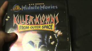 Killer klowns from outer space dvd review