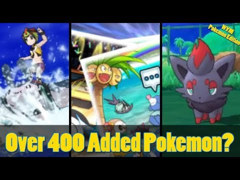 Pokemon Ultra Sun and Moon Shows Surfing to Islands, Photo Club, 400 New Pokemon + More!