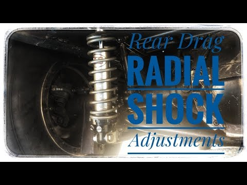Basic Drag Radial Shock Adjustment - YouTube