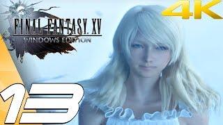FINAL FANTASY XV (PC) - Gameplay Walkthrough Part 13 - Leviathan Boss Fight [4K 60FPS]
