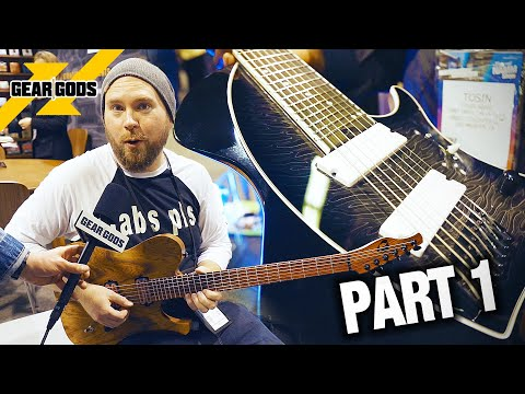 COOLEST Guitar Gear of NAMM 2020 - Part 1! | GEAR GODS
