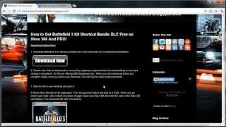 Battlefield 3 Kit Shortcut Bundle DLC Pack Download