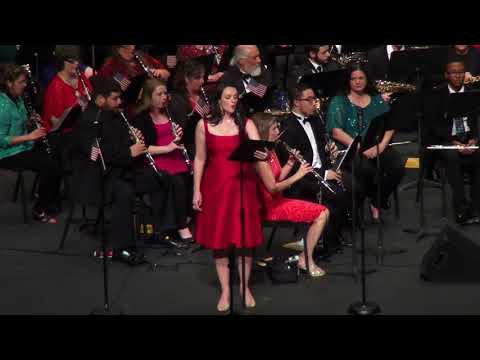 East Texas Symphonic Band December 2017 Concert at The Belcher Center
