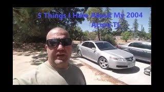 5 Things I Hate About My 3rd Gen Acura TL