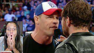 WWE Smackdown 9/13/16 John Cena Chants in PHILLY GOLD