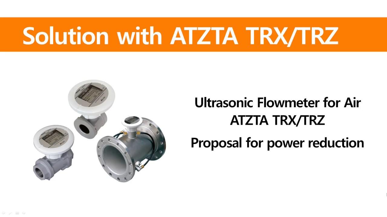 Ultrasonic Flowmeters for Compressed Air