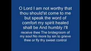 O Lord I am Not Worthy - Adoremus 512