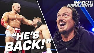 RHINO Returns to Attack Michael Elgin!   IMPACT! Highlights July 26, 2019