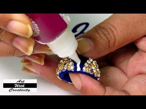 Silk thread Earring | DIY | Jhumka