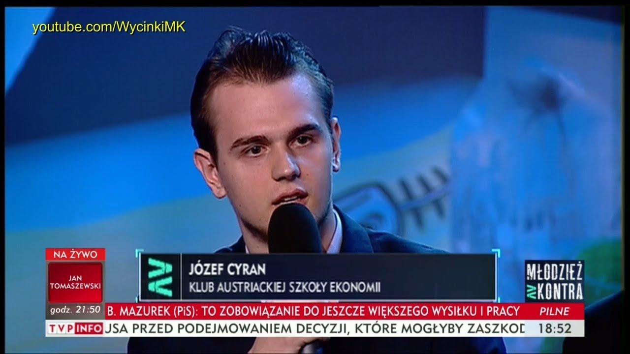 Młodzież kontra 613: Józef Cyran (KASE) vs prof. Andrzej Zybertowicz 14.10.2017
