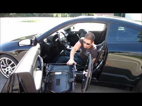 Paraplegic Car Transfer