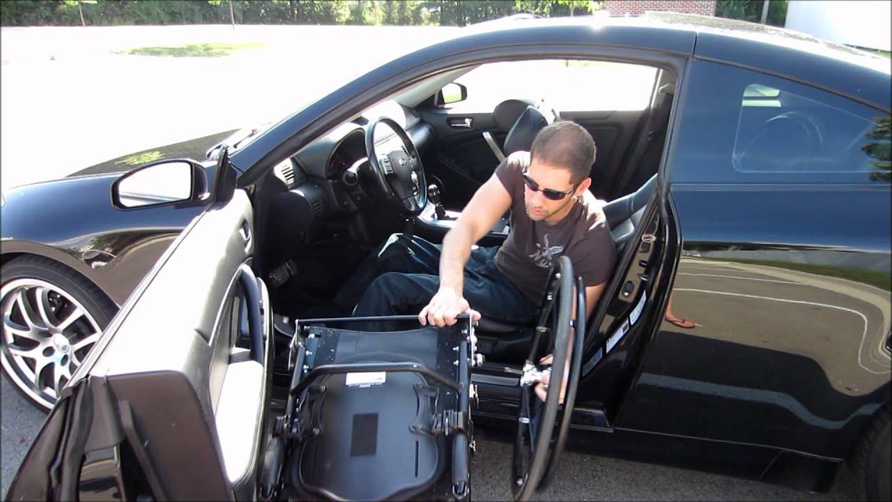 Paraplegic Car Transfer Youtube