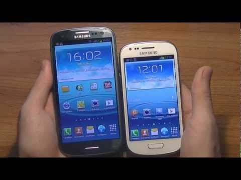 Мини-обзор Samsung Galaxy S3 mini