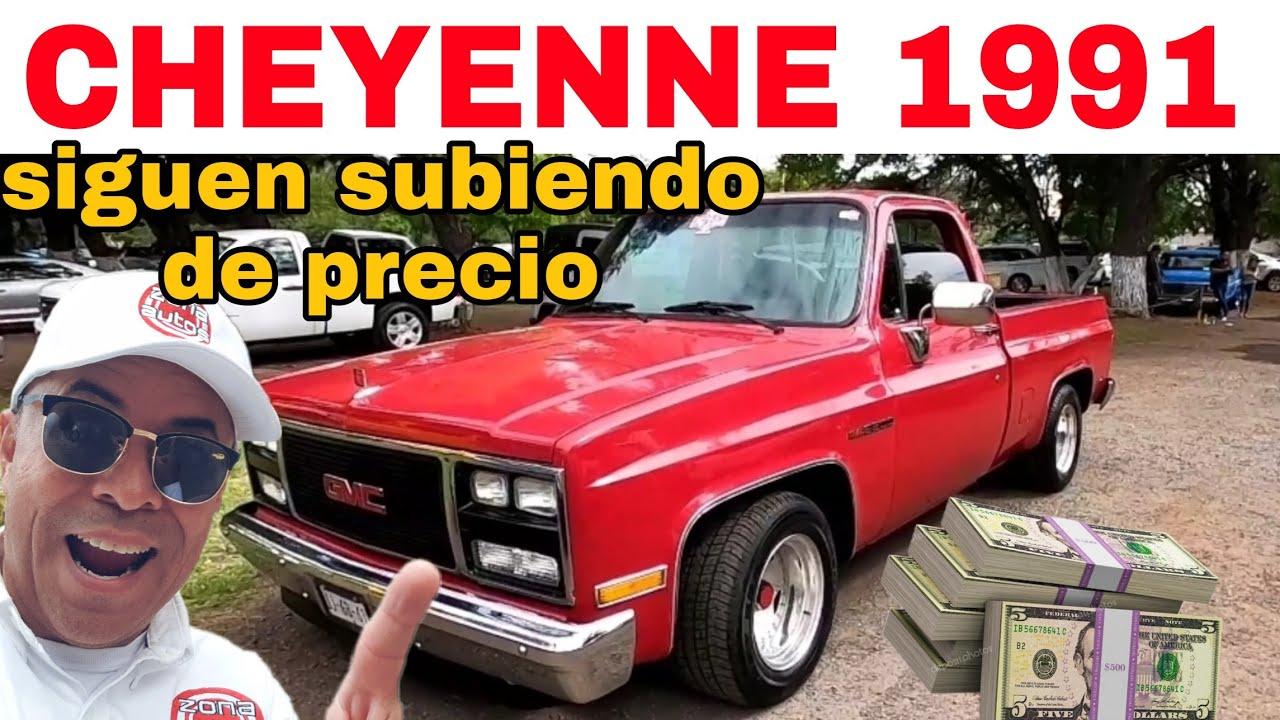 CHEVROLET CHEYENNE 91La encontre en el tianguis de autos en venta Trucks for sale pickup silverado