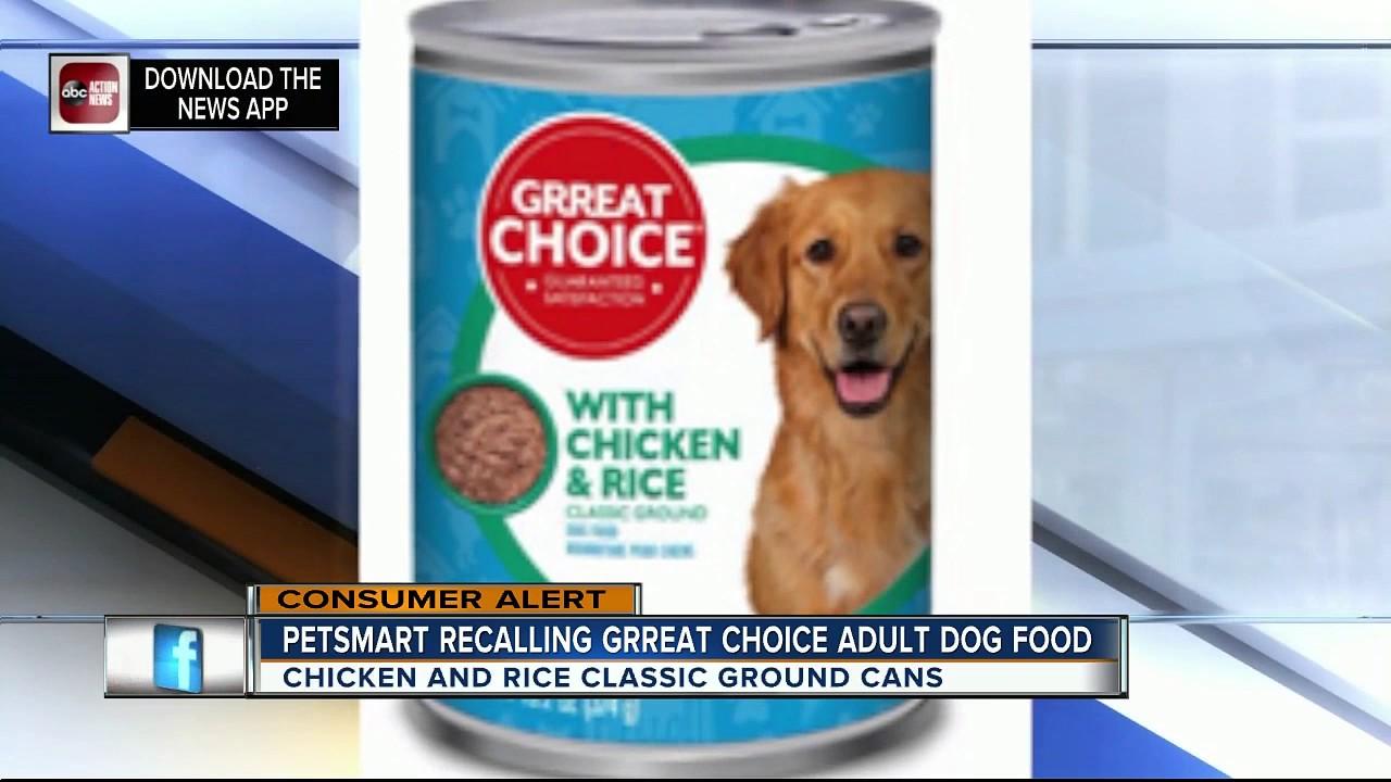 Petsmart Recalls Grreat Choice Adult Dog Food Due To Metal