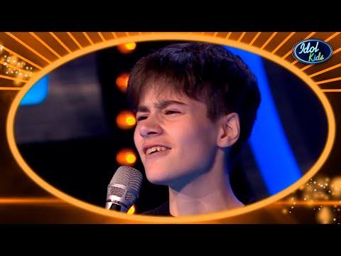 AIDEN, CHICO TRANS con un ESTILO DIFERENTE, gana un TICKET DORADO   Los Castings 3   Idol Kids 2020