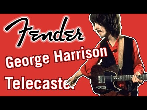 Fender George Harrison Rosewood Telecaster Demo