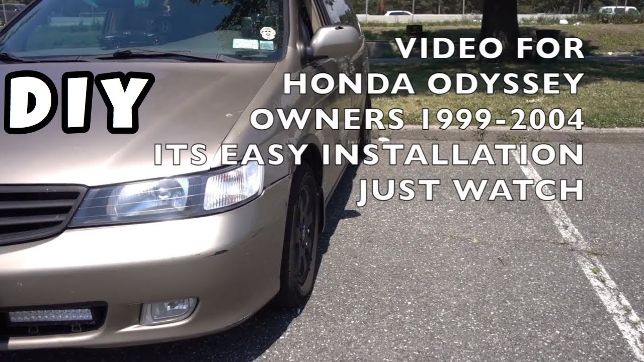 How To Install Rear Vent Window Motor Honda Odyssey 2003