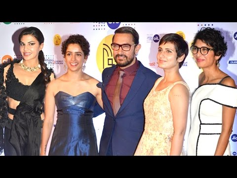 Mami Film Festival 2016 Opening Ceremony Red Carpet Aamir Khan