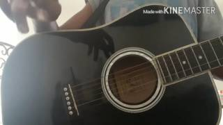 BTS 방탄소년단 SAVE ME tab tutorial for acoustic guitar with capo.