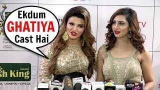 rakhi sawant and arshi khan reaction on salman khans race 3 movie
