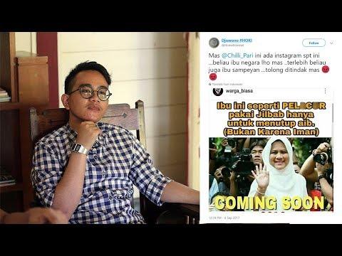 Ibu Negara Iriana Jokowi Dihina, Respons Gibran Rakabuming Bikin Geregetan
