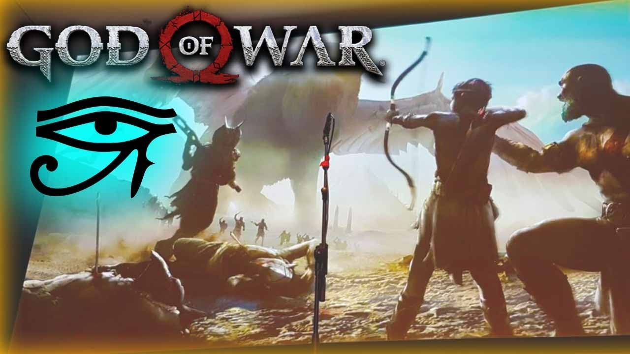 God Of War In Egypt Concept Art May Be Pointing At A Sequel To Bring Kratos To Egyptian Mythos