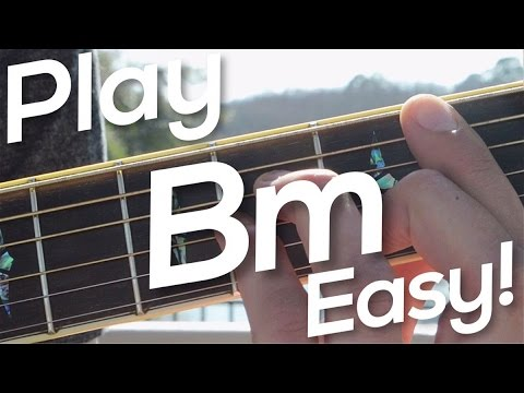One Minute Guitar: How To Play Bm! - YouTube
